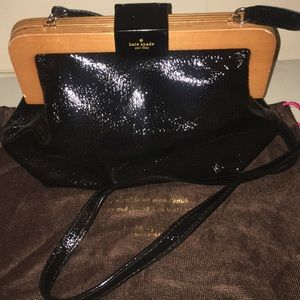 Kate Spade Patent Leather Crossbody 100% Authentic